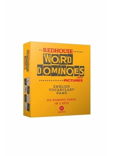 Red House Word Dominoes with Pictures - Domino ile Resimli Sözcük Oyunu Beyaz